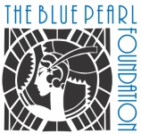 Blue Pearl Foundation Square logo Blue text